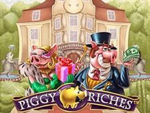 Игровой автомат Piggy Riches без регистрации онлайн