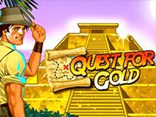 Игровой автомат Quest for Gold - играть онлайн