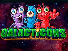 Бонусы автомата Galacticons от Вулкан